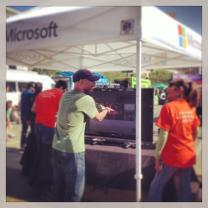 Corporate sponsors like Microsoft were attracted to our branding and community for EarthDay