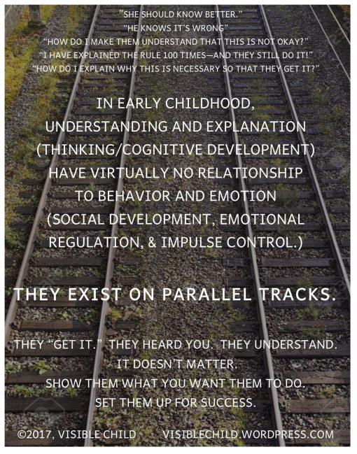 parallel tracks meme