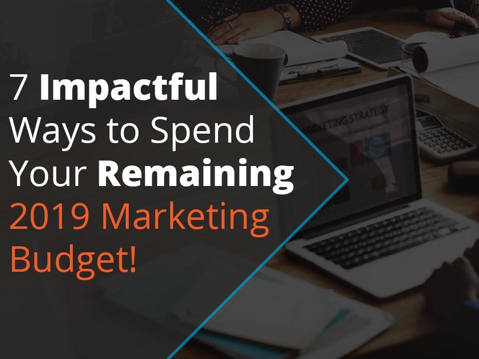 2019 Marketing Budget