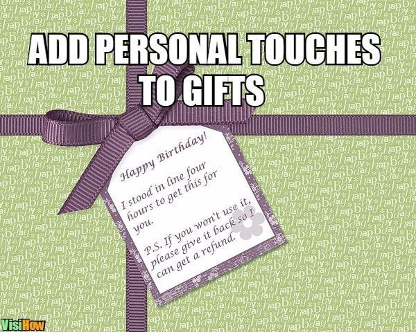 Write A Letter Of Presenting Gifts VisiHow