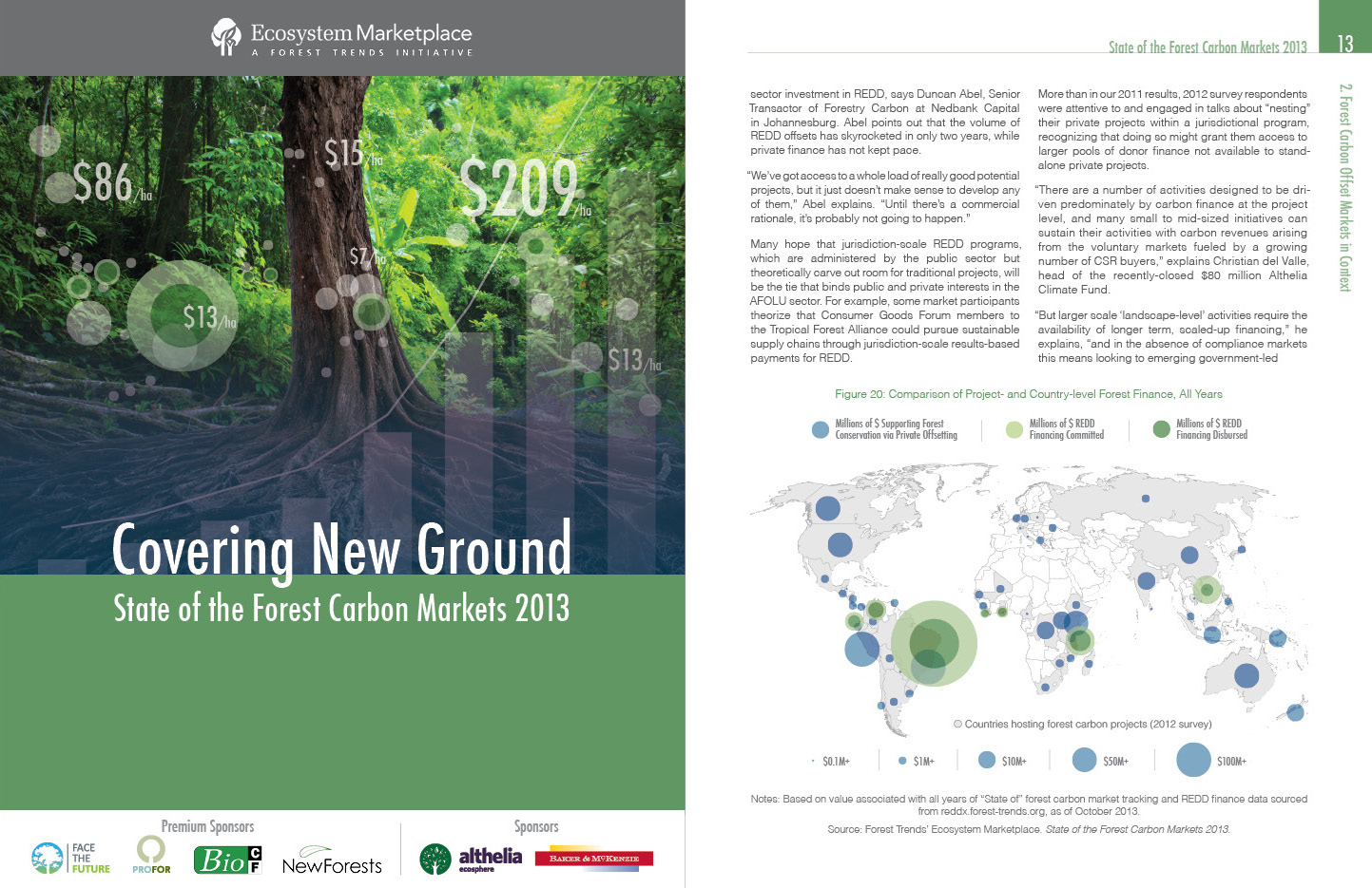 Forest Carbon Markets 2013