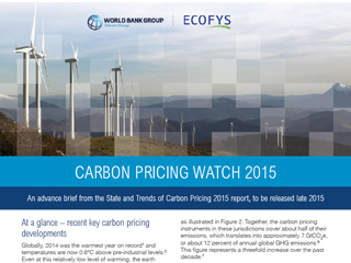Carbon Pricing Watch  2015