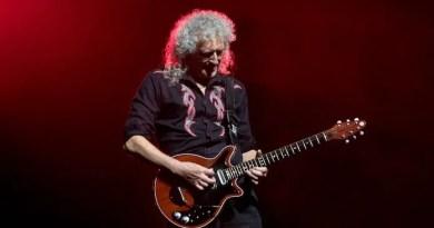 brian may queen guitarrista Vision Art NEWS