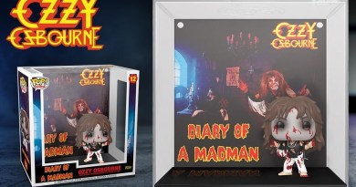 Ozzy Osbourne Diary Of A Madman Funko Vision Art NEWS