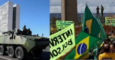 Blindados e Bolsonaro Vision Art NEWS