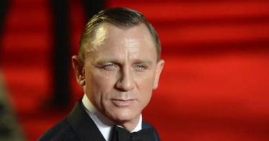 o ator daniel craig interprete de james bond em 007 Vision Art NEWS
