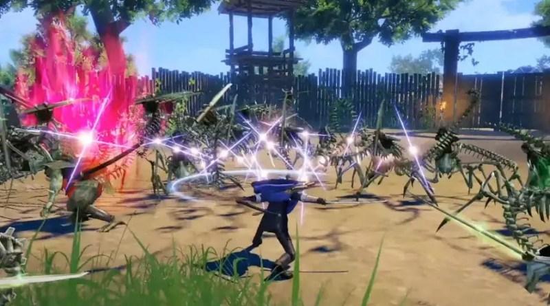 Touken Ranbu Warriors Anuncio Switch Vision Art NEWS
