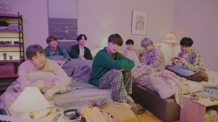 bts life goes on pillow Vision Art NEWS