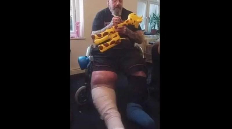 paul di anno perna cirurgia iron maiden Vision Art NEWS