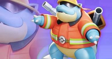 Blastoise skin Pokemon Unite Vision Art NEWS