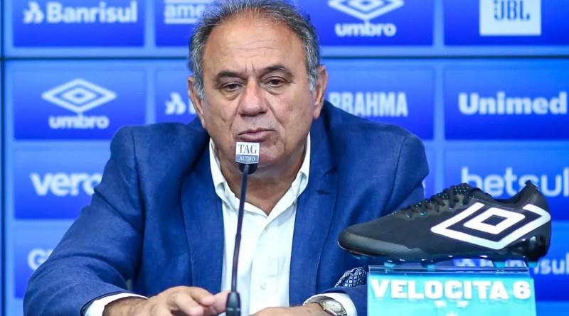 Grêmio fez um pacto para deixar a zona de rebaixamento, revela dirigente