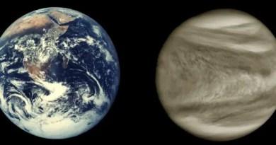 Earth and Venus SOURCE NASA via the Apollo program and Mariner 10 Vision Art NEWS