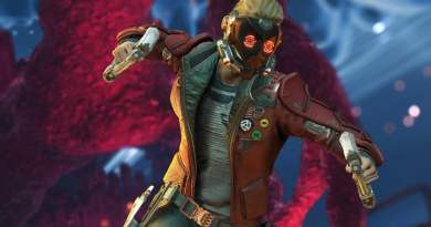 Guardians of the Galaxy Tech Trailer PC Vision Art NEWS