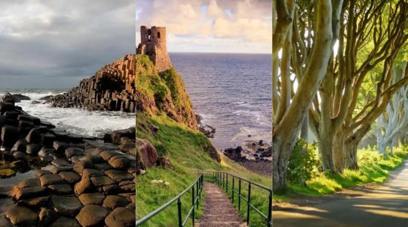 Lugares na Irlanda do Norte Vision Art NEWS