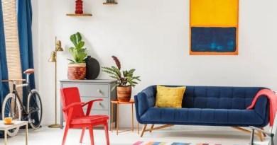 kindercore estilo decoracao sala sofa colorido cores primarias pinterest Vision Art NEWS