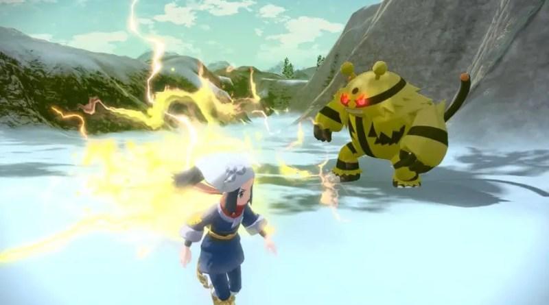 pokemon legends arceus clima terror Vision Art NEWS