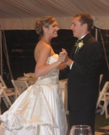 First Dance of Dr Emily McCulloh and Brady Hollingsworth