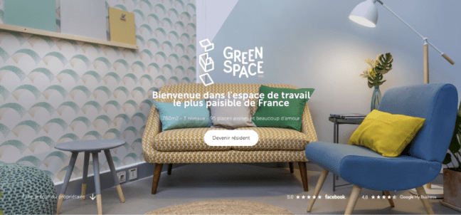 le coworking tranquille