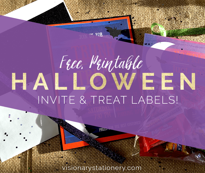 This is a photo of Halloween Stationery Printable for design