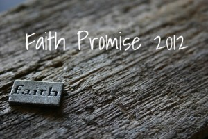 What is faith promise?