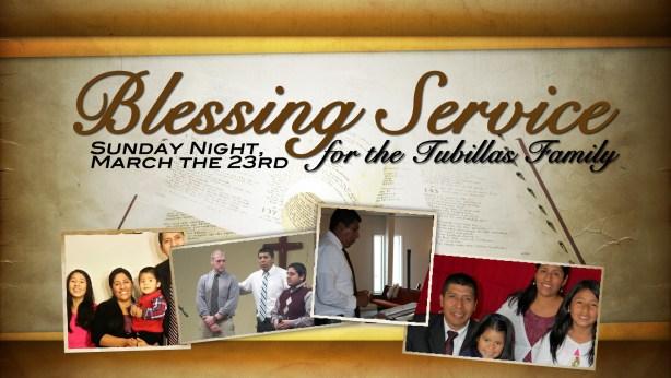 BlessingServiceTubillas