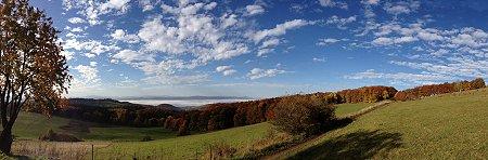 Panorama Hohe Klinge Trusetal - Thüringen