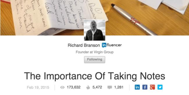 Executive Blogging
