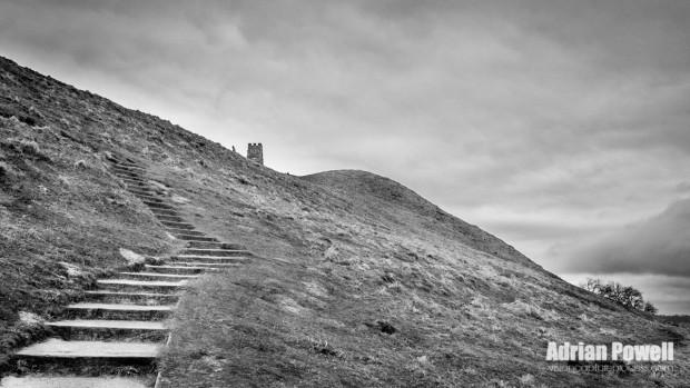Glastonbury Tor - ascent