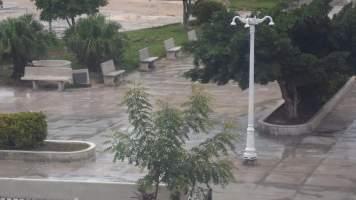 Parque Calixto García visto desde la emisora Radio Holguín. Foto: Tatyana Galbán.