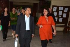 Delegación de Japón visita la Universidad de Holguín. UHO FOTO/Luis Ernesto Ruiz Martínez-Dircom