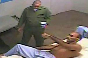 Fidel Batista Leyva en el Hospital.