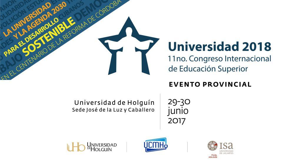 Listos los holguineros para evento provincial #Universidad2018