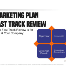 Marketing Plan Fast Track Review
