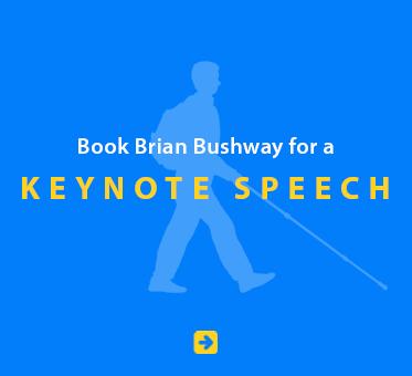 Book Brian Bushway for a Keynote Speech.