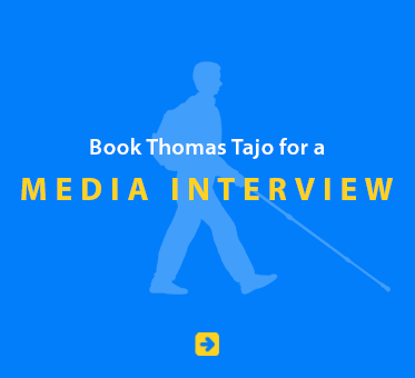 Book Thomas Tajo for a Media Interview