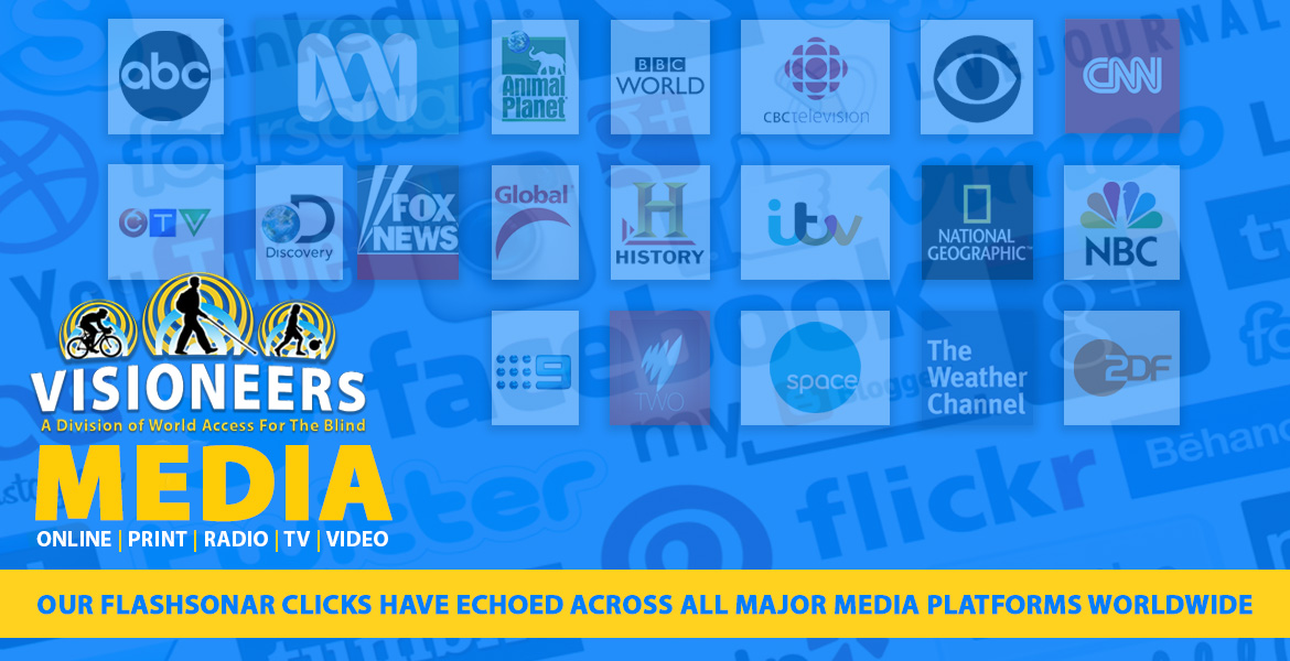 Visioneers Media: Our FlashSOnar clicks have echoed across all major media platforms worldwide.