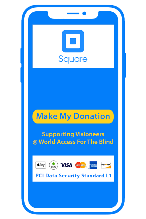 Donate via Square via Apply Pay, Android Pay, Visa, MasterCard, American Express and Discover card with PCI Data Security Standard L1. Make my donation.