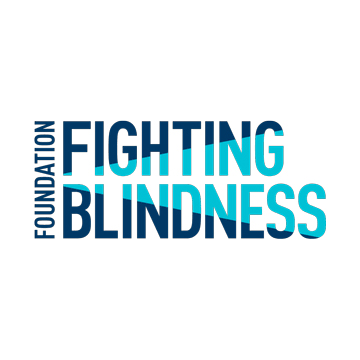 Foundation Fighting Blindness logo- Panel 4 as described in previous text.