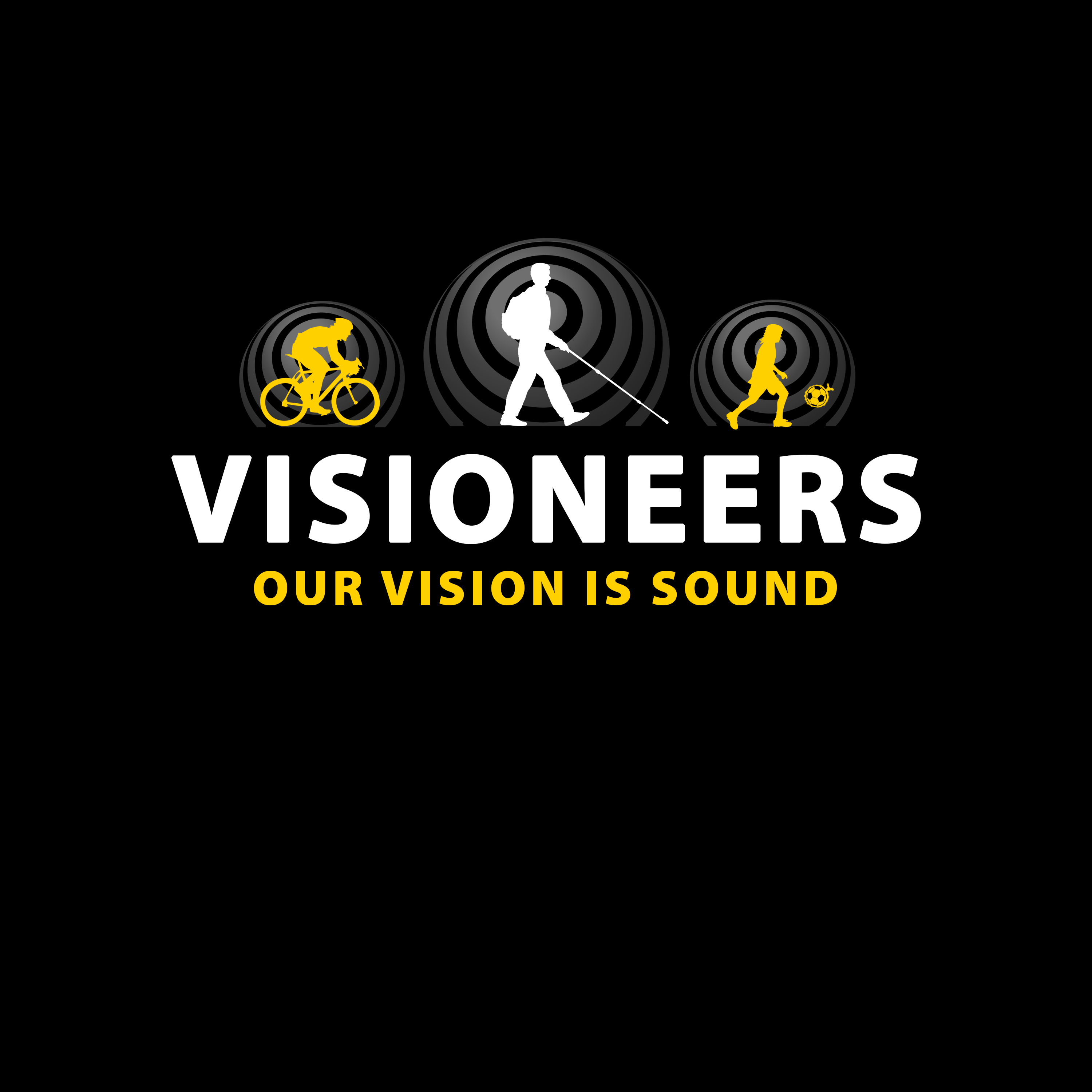 Visioneers 6. Same as previous panel but with white Daniel silhouette.