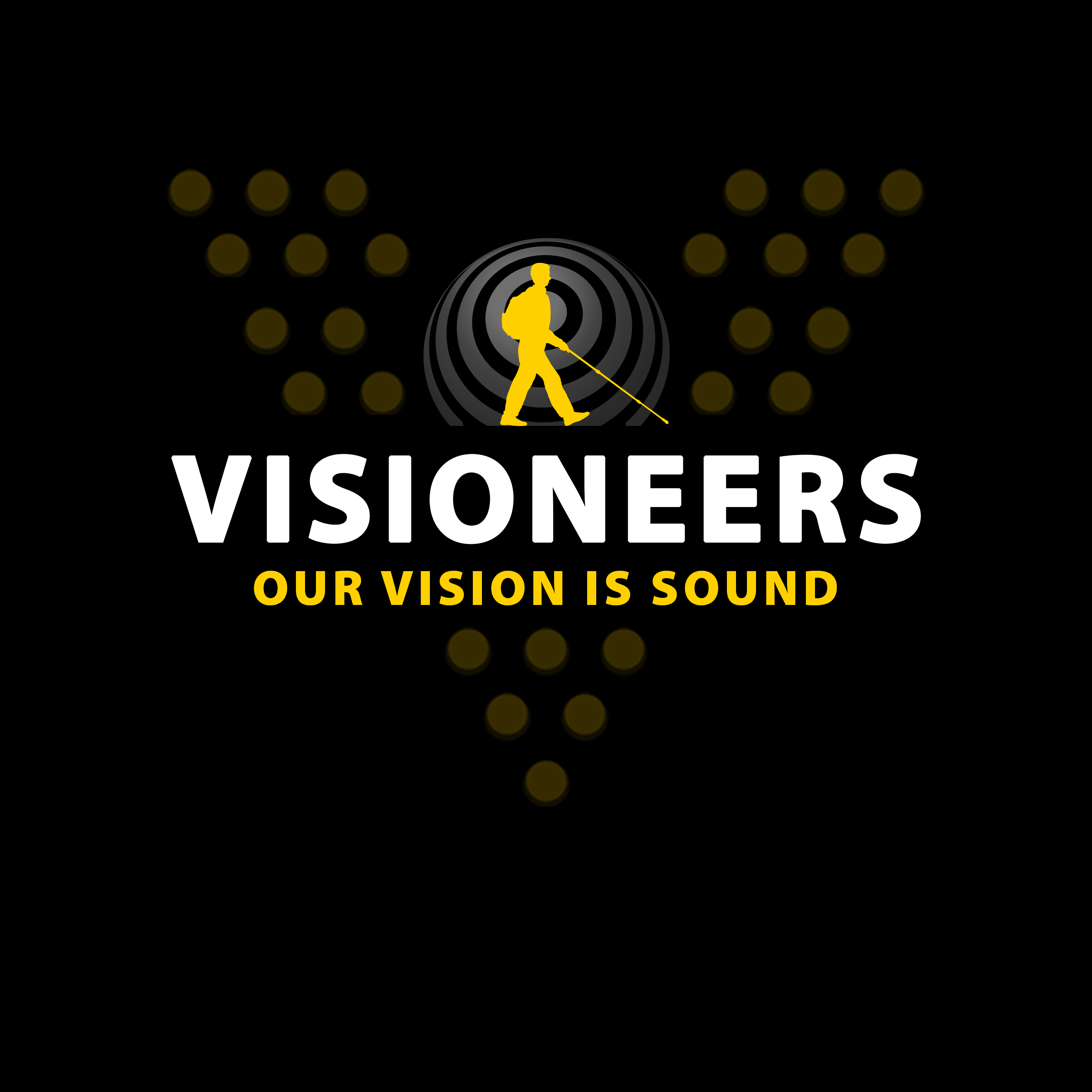 Visioneers 7b. Same as previous panel but with yellow Daniel silhouette.