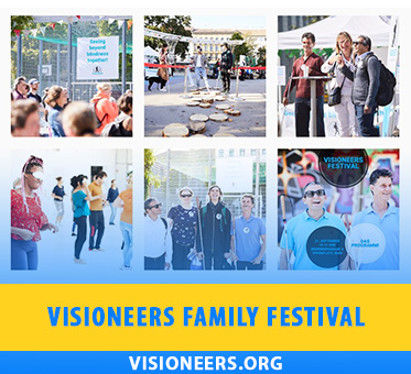 Visioneers Family Festival. Photo montage shows various participants at the Visioneers Austrial Festival in Venice on the 21st of September, 2019.