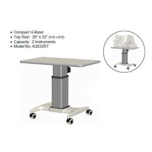 K2 Double Instrument Power Table