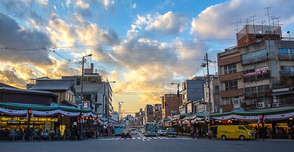 京都八坂神社路口