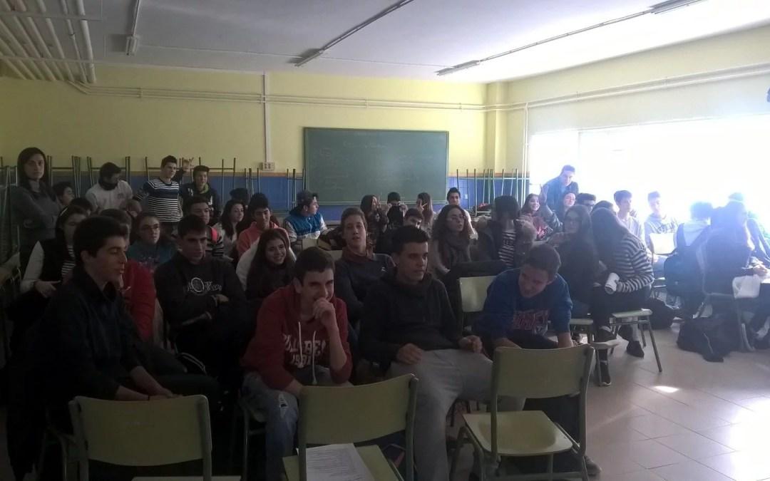 Visión Responsable habla sobre Responsabilidad Social en el IES Arribes de Sayago (Zamora)