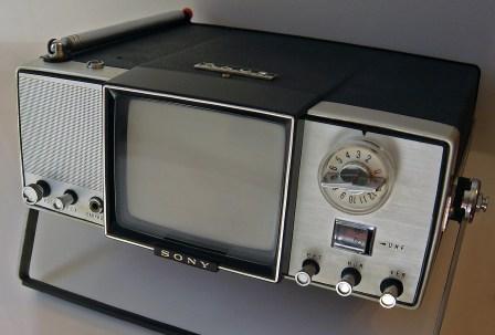 Vintage Micro TV