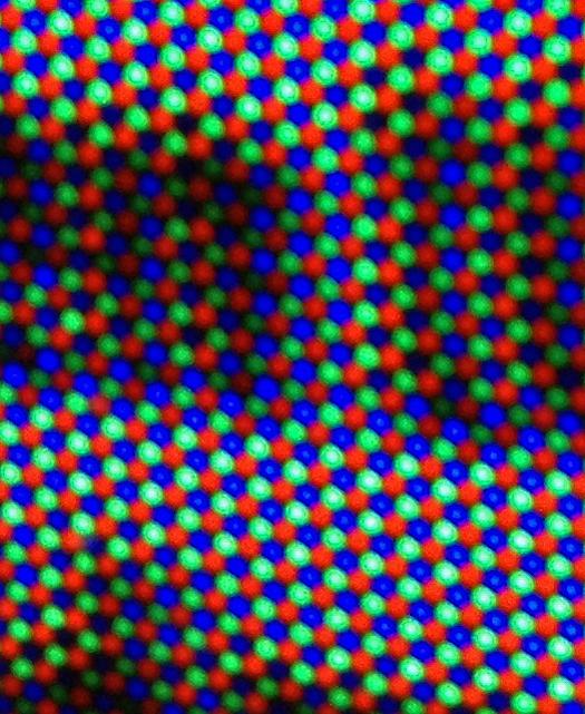 1966 GE Porta Color Delta Pixels photographed Nov. 28, 2012