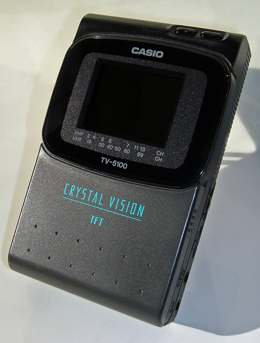 Casio TV 5100B photographed October 28, 2010