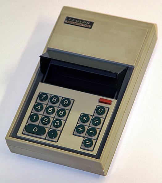 Lloyd's Accumatic 100 LCD Calculator 1972 Courtesy Keith Midson