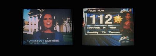 Seiko T 102 Screen Shots photographed July 2, 2010