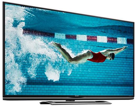 Sharp LC-70UD1U UHD LED TV courtesy Sharp Corporation
